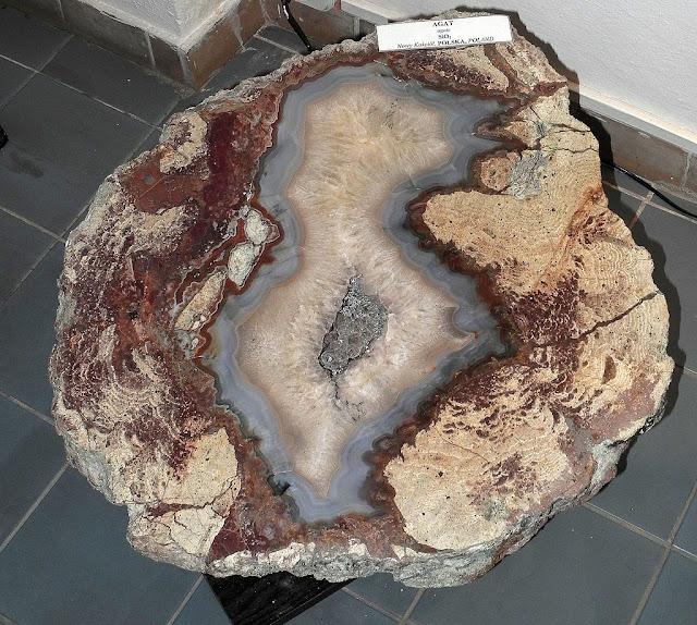 Agaty muzeum agatu Polska występowanie kamienie