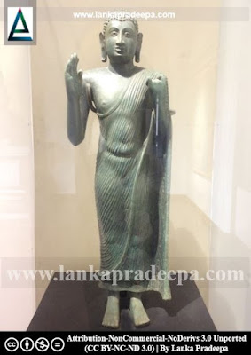 Kumbukgete Standing Buddha Colombo Museum
