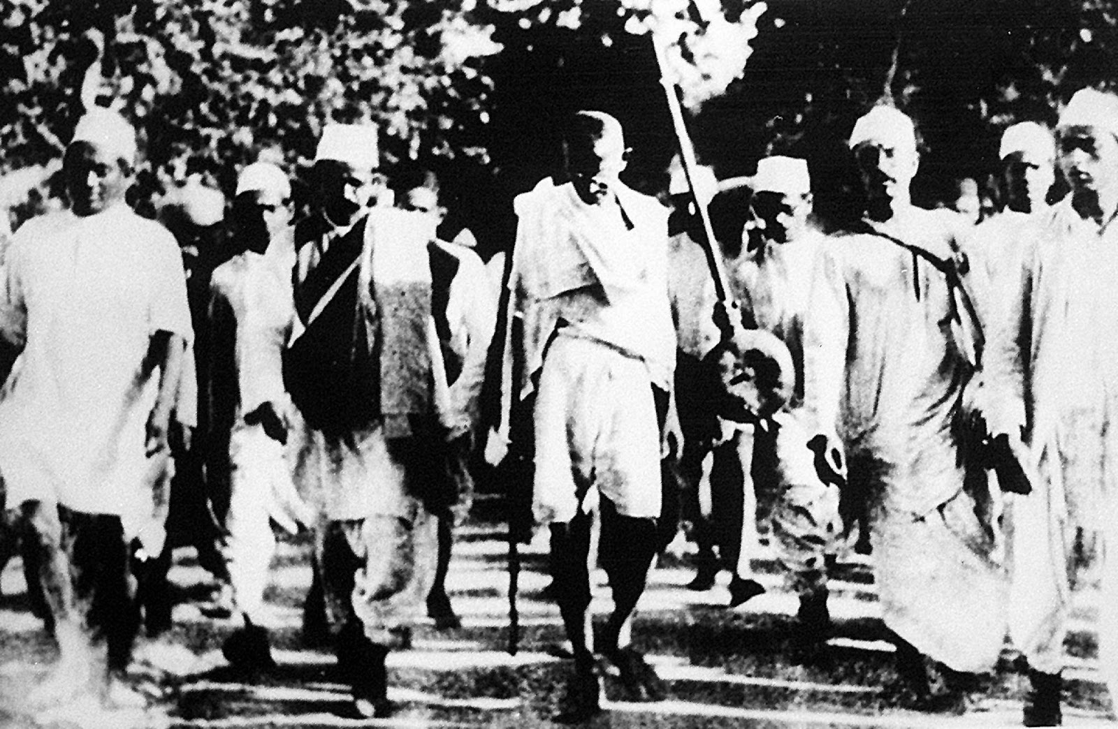 Gandhi dandi salt march