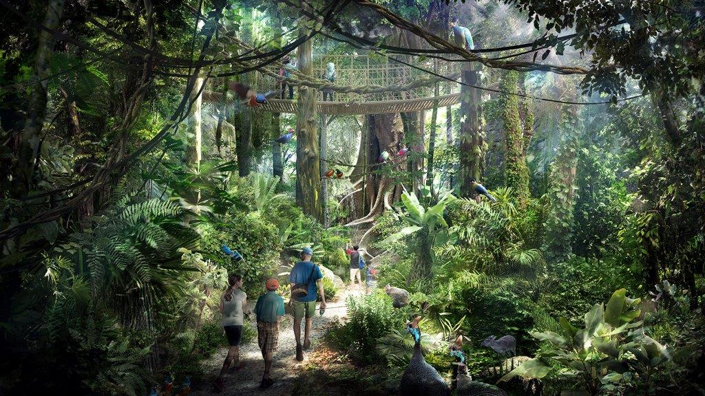 NEW RAINFOREST PARK