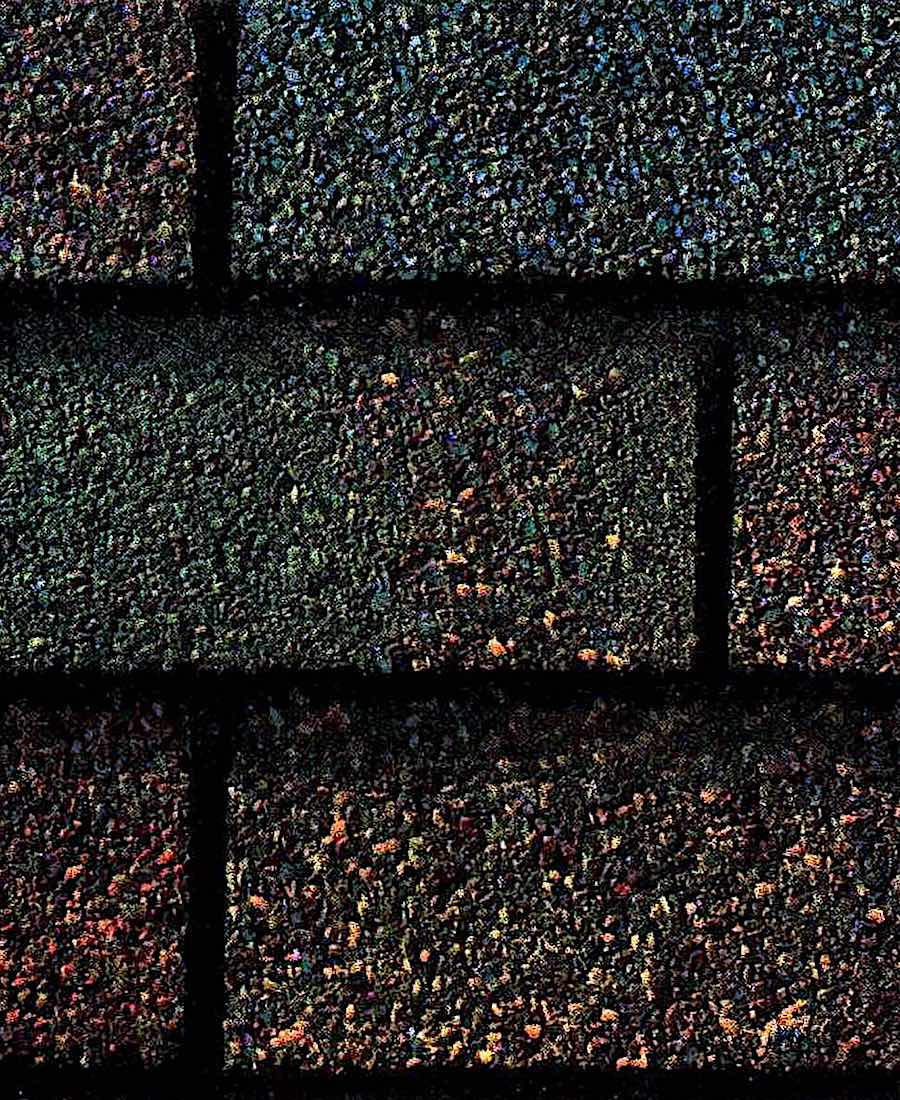 1939 colored roof shingles