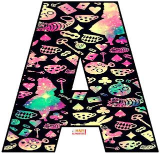 Letras de Alicia. Alice Letters.