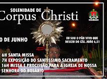 Igreja divulga Programação da celebração de Corpus Christi de Santa Luzia