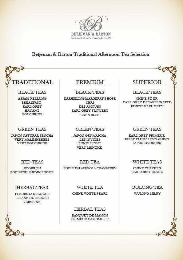 Betjeman & Barton with an introduction of their teas