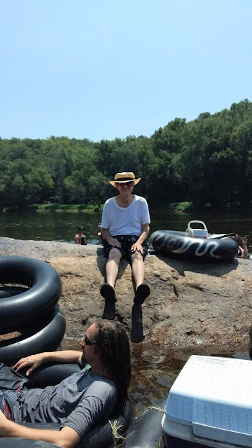 Tubing in Scottsville VA with Clyde