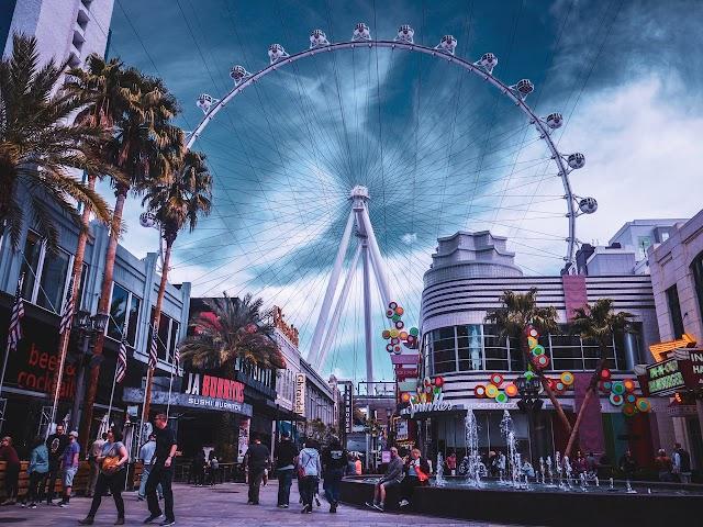 Las Vegas in 1980-1990s