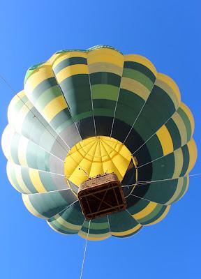 Vuelo en globo en el Festival de Grullas