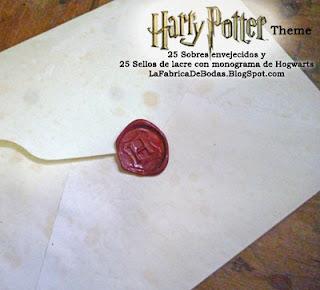 Venta tarjetas para boda 15 Harry Potter  guatemala sobre para carta y sello de lacre rojo con monograma escudo  hogwarts