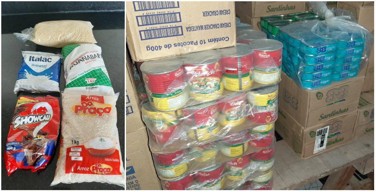 Com depósito abarrotado de merenda, Óbidos distribui kits de 5 itens a alunos