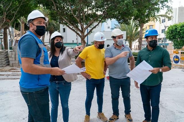 Fuerteventura.- Las obras de la Plaza de la Candelaria de Gran Tarajal estarán finalizadas en diciembre