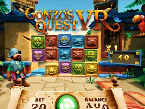 Gonzo's Quest VR - kolikkopelit