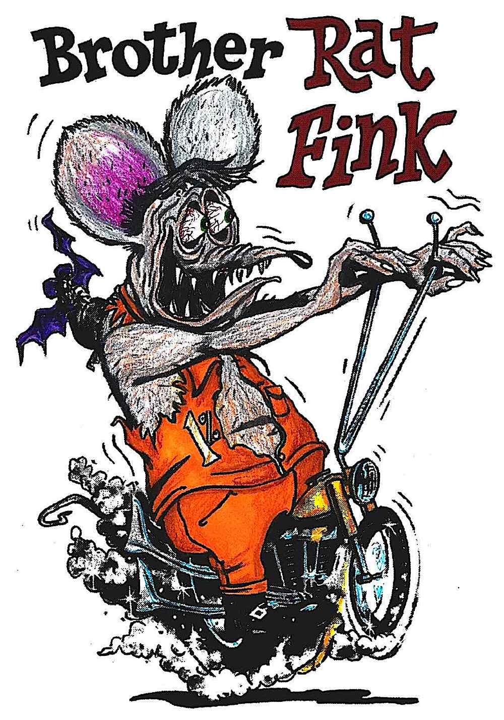 Ed Roth's Brother Rat Fink