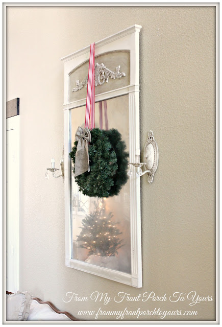 French Country Christmas Foyer