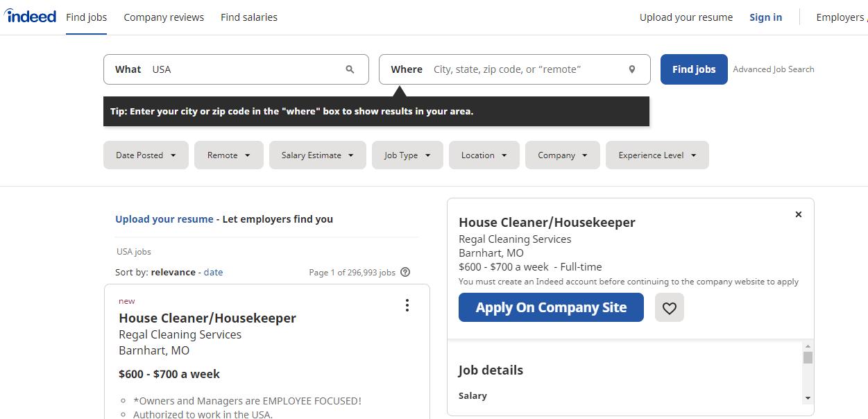 Best Job Portals in USA