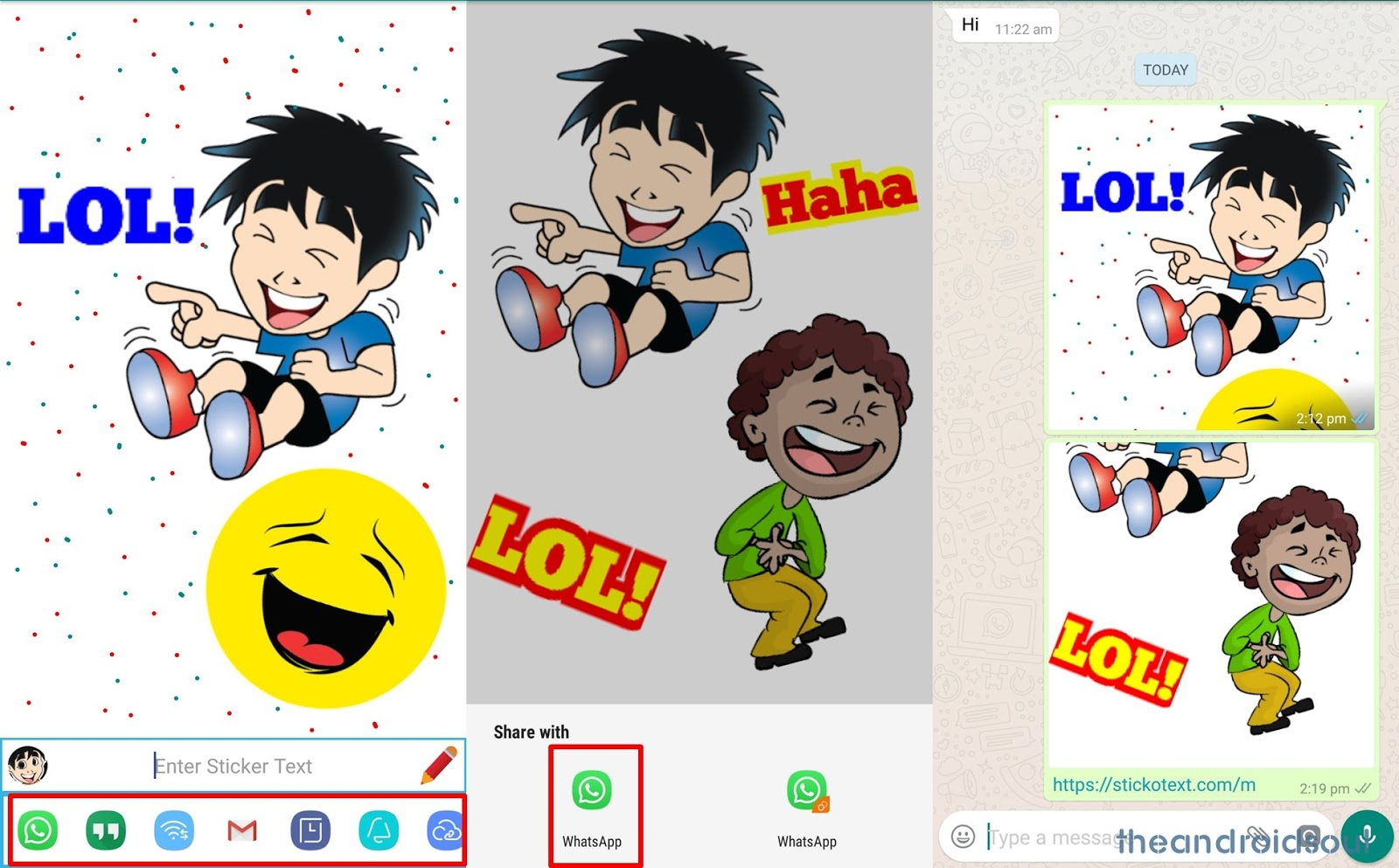 Whatsapp stickers update download link and create your personal stickers