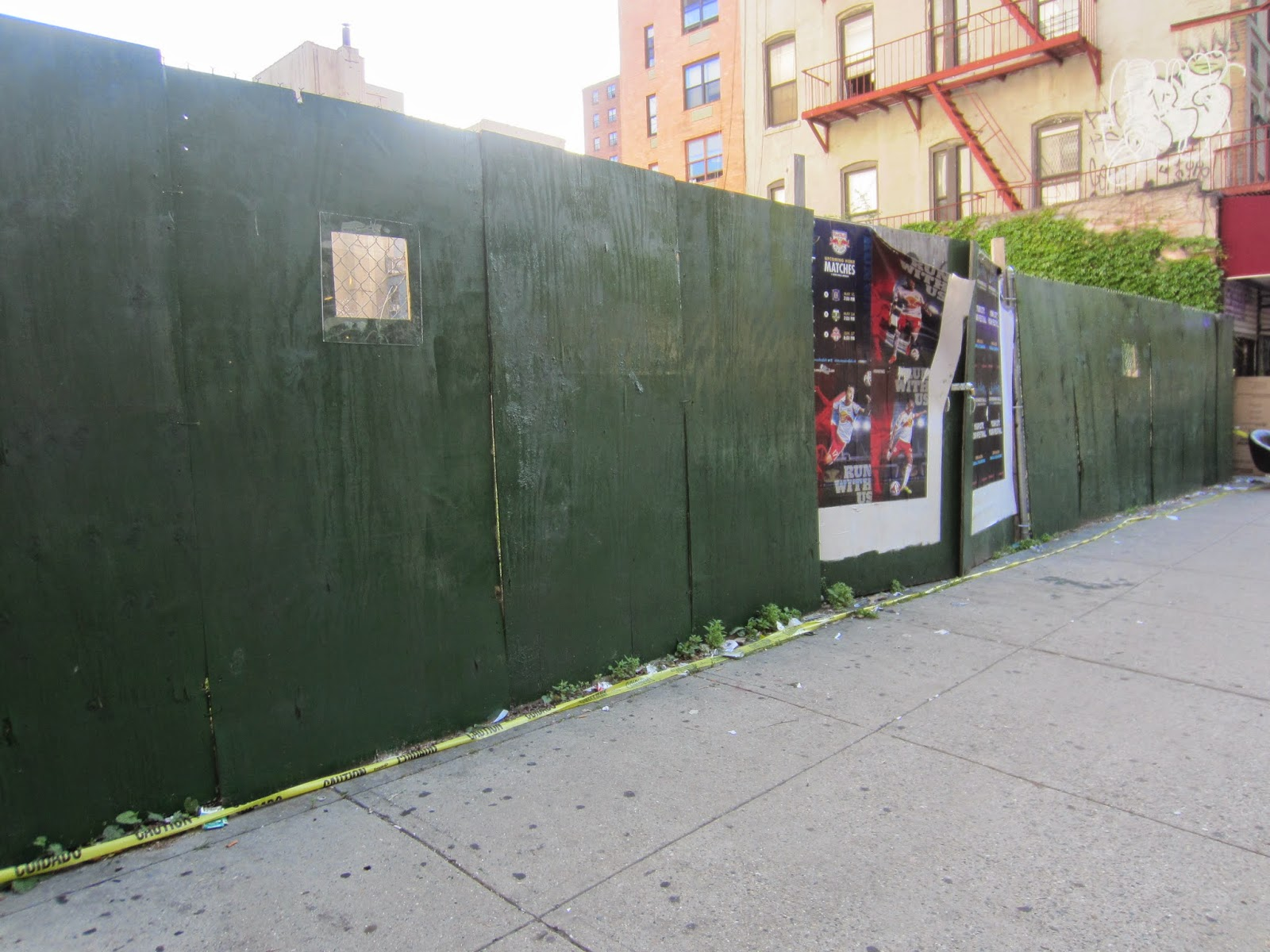 Ev Grieve Plywood Arrives At East 3rd Street Lot Site Of