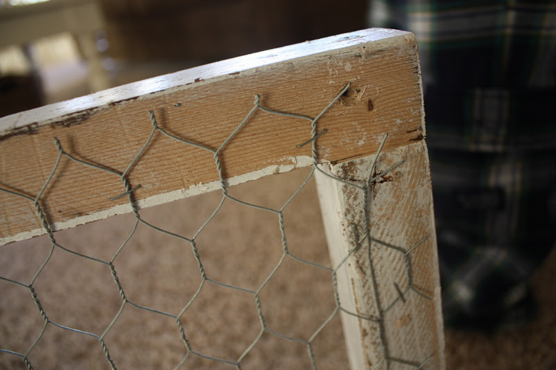 Country Girl Home Chicken Wire Frame How To