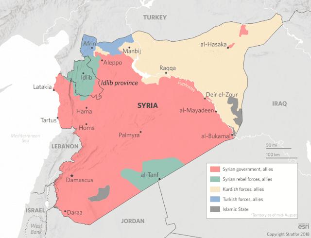 Τα μετέωρα βήματα της Ρωσίας στη Συρία