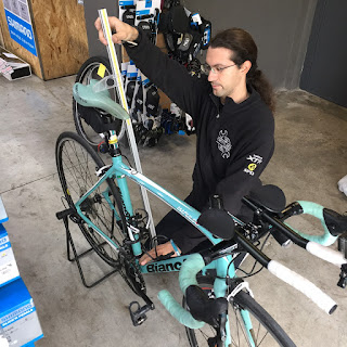 Measuring the frame of the bianchi impulso
