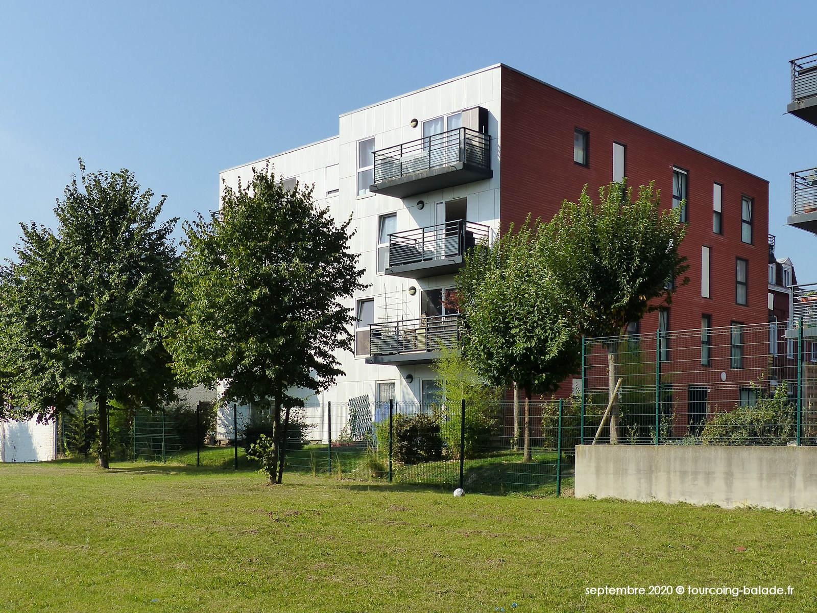 Logements HLM Pierre de Guethem, Tourcoing 2020
