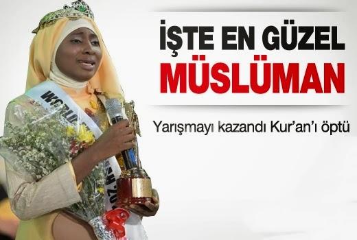 Miss müslüman ahmaklığı