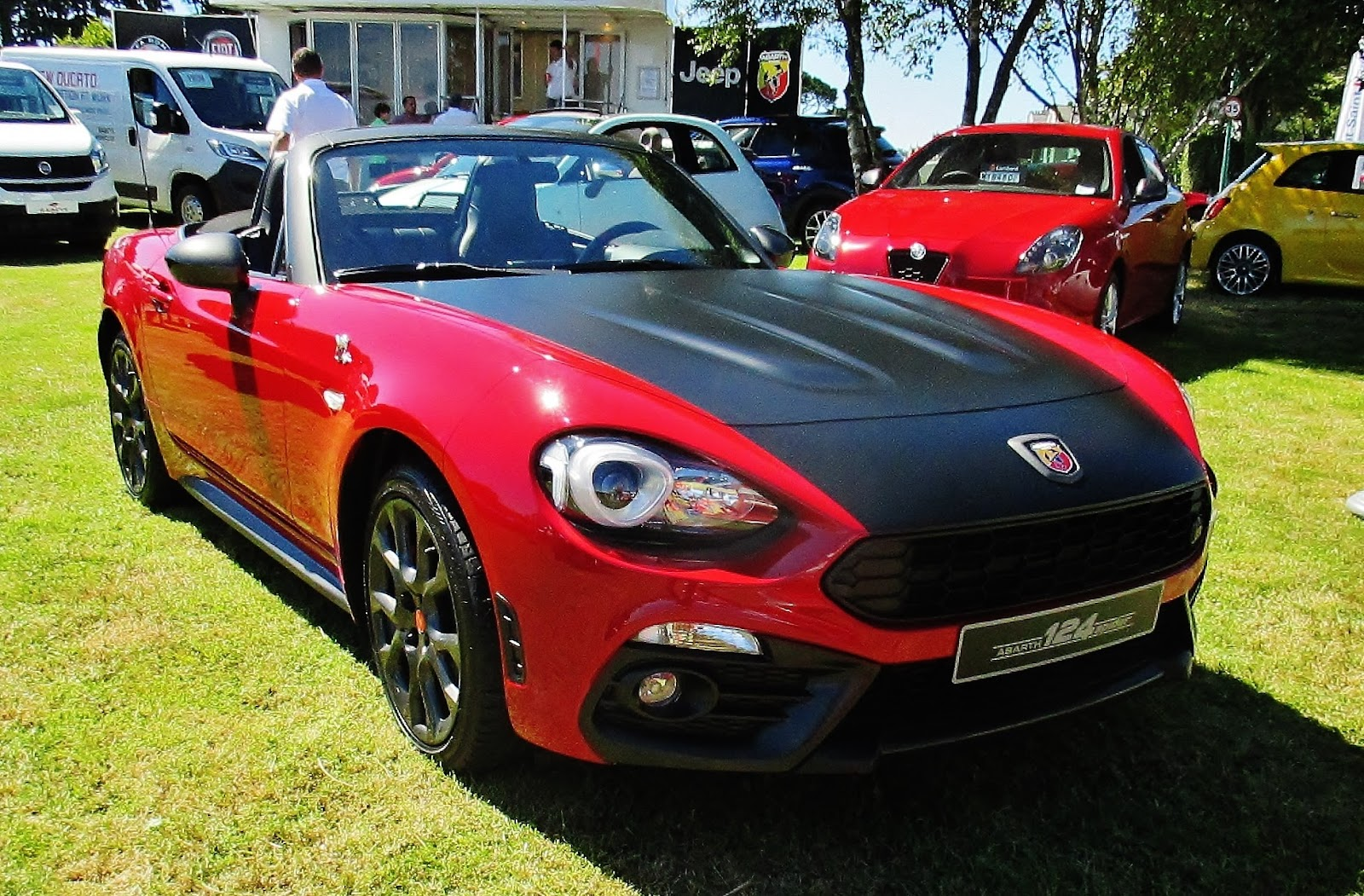 ferraris and other things abarth 124 spider. Black Bedroom Furniture Sets. Home Design Ideas