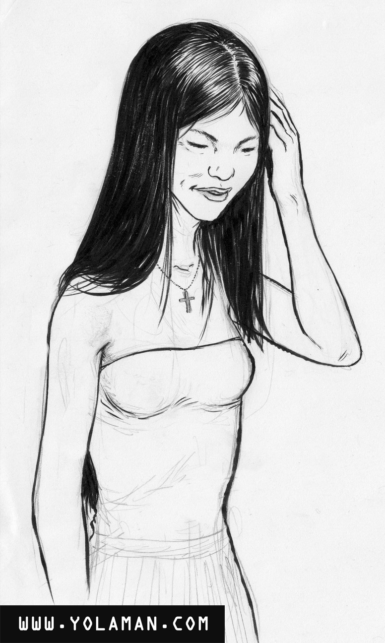 To Draw Asian Women Philip 101