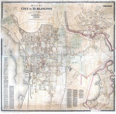 Burlington Map 1890