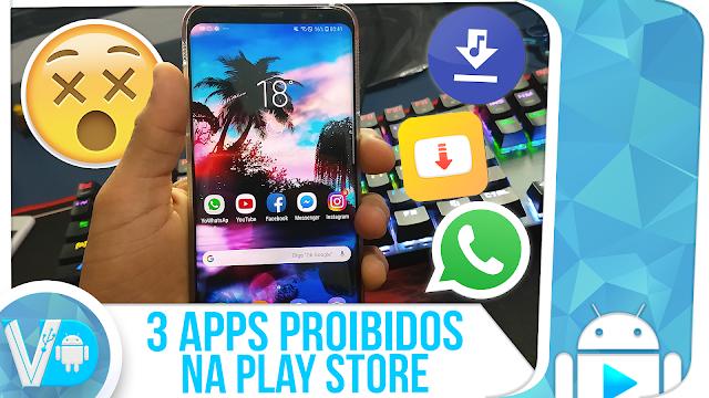 3 😮 ► APLICATIVOS PROIBIDOS na Play Store QUE VOCÊ PRECISA CONHECER