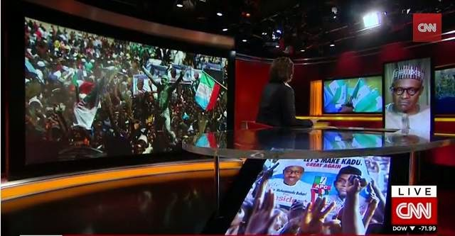 Video of  Buhari's Full Interview with CNN Christiane Amanpour