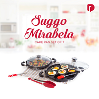 Dusdusan Suggo Mirabela Cake Pan Set of 7 ANDHIMIND
