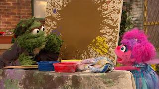 Oscar the Grouch, Abby Cadabby, Sesame Street Episode 4316 Finishing the Splat season 43