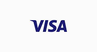 خط لوجو VISA