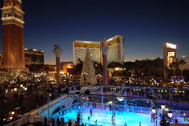 Pistas de Gelo dos hotéis em Las Vegas