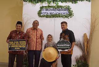 Kota Mojokerto Launching E-Musrenbang