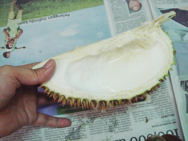 Air Kulit Durian untuk Panas Dalam