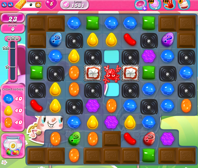Candy Crush Saga 1581