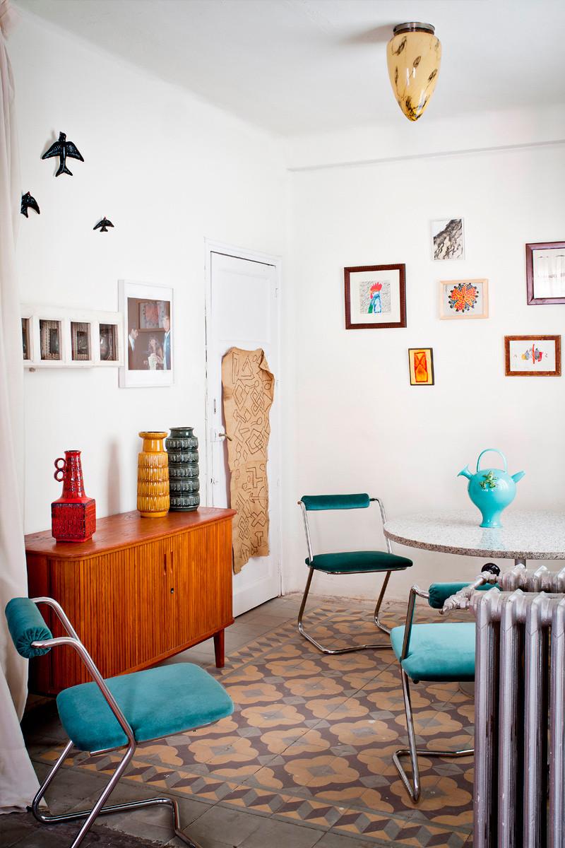 Cómo decorar con golondrinas de cerámica_4
