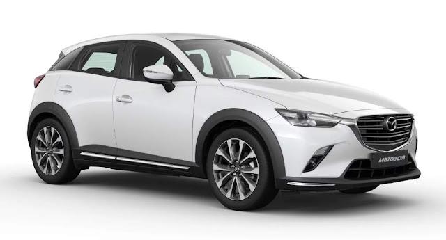 New Mazda CX3 Putih