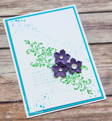 Card for any occasion featuring the Timeless Textures Stamp Set from Stampin' Up! UK