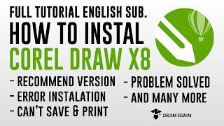Download Aplikasi Corel Draw X8 FULL VERSION