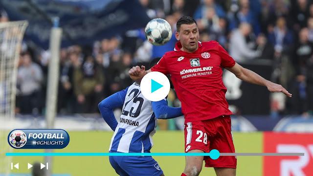 Hertha BSC vs Mainz 05 – Highlights