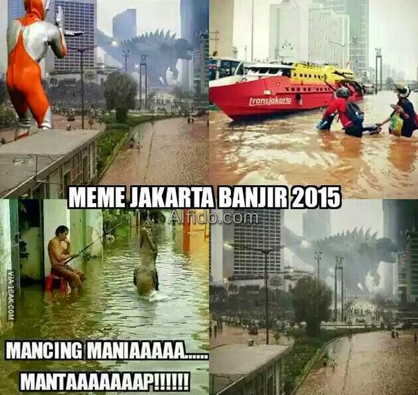 Kumpulan Lucu Soal Banjir Di Jakarta