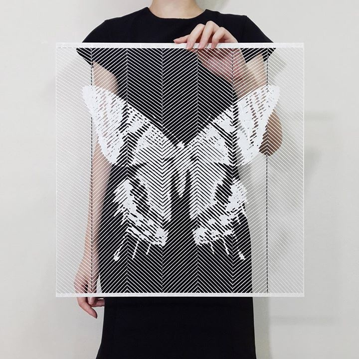 07-Butterfly-Yoo-Hyun-Paper-Cut-Celebrity-Photo-Realistic-Portraits-www-designstack-co