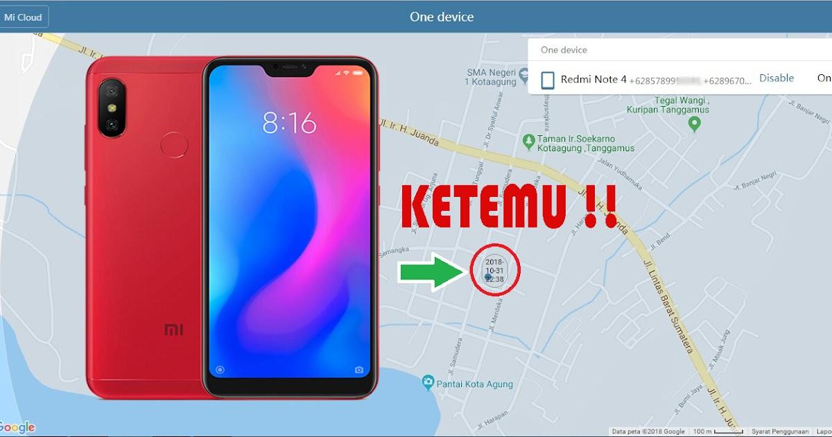 Cara Melacak Hp Xiaomi