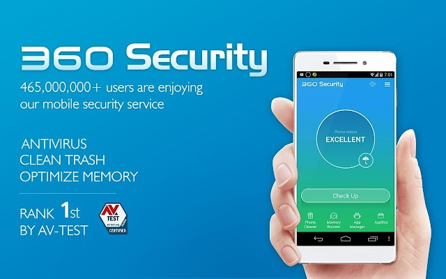 360 MOBILE SECURITY -  ANTIVIRUS SOFTWARE FOR MOBILE
