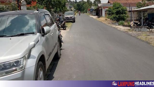 Perbaikan Ruas Jalan Simpang Kanan-Margoyoso Rampung, Berawal Aspirasi Warga Ke Bupati Tanggamus