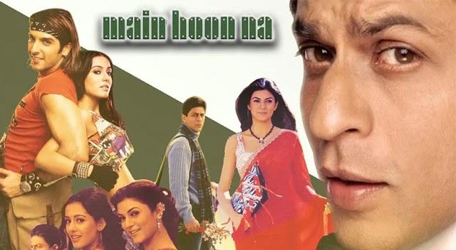 ' मैं हूँ ना ' - शाहरुख़ खान की सुपरहिट फिल्म - Story and Review of Shahrukh Khan Movie Main Hoon Na