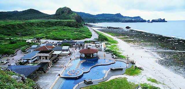 全球只有三座海底溫泉,其中一座位於綠島,屬於硫磺泉