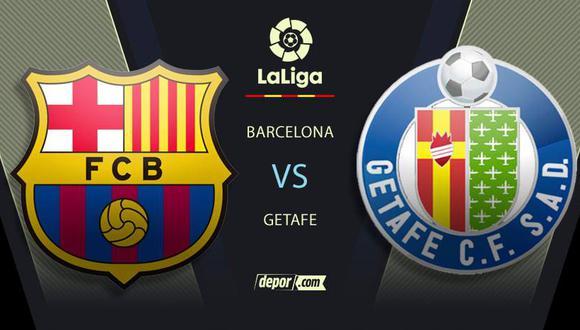 Barcelona vs Getafe: partido hoy por LaLiga Santander
